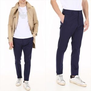 Dsquare2 cotton twill trousers